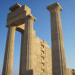 Ruins of ancient acropolis temple — ストック写真 #10009603
