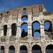 Colosseum in Rome with blue sky — Stock Photo #10220212