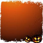 Fondo halloween con lugar para el texto — Vector de stock