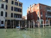威尼斯大运河,意大利的夏季 — 图库照片