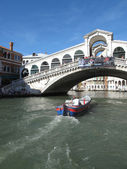 Summer in Venice, Grand Canal, Italy — Foto Stock