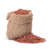 Red rice — Foto de Stock