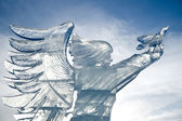 Icy angel — Stock Photo