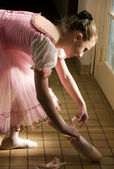 Young ballerina — Stockfoto