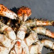 Crab (Paralithodes brevipes (Miln - Edwards et Lucas) — Stock Photo