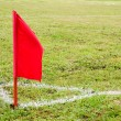 Corner flag — Stock Photo