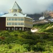 Foto Stock: Hotel of mountain