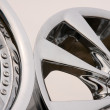 Alloy for car — Stock Photo