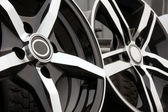 Alloy for car — Stockfoto