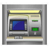 Atm vector illustration — Stock Vector