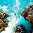 Sea and rocks — Stock Photo #8438000