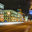 Street in Saint Petersburg — Stock Photo #8709039