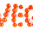 "Stock Photo: Word ""VEG"" made of cherry tomatoes"