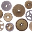 Set of cog-wheels — Stock Photo