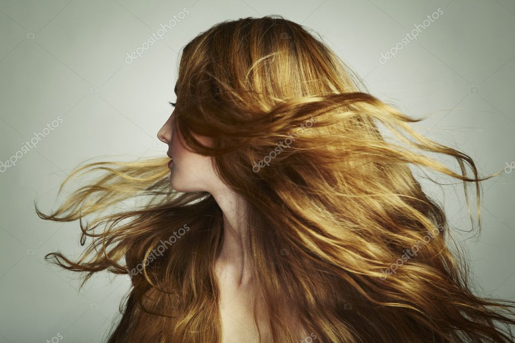 flowing hair and dimensional - photo #7