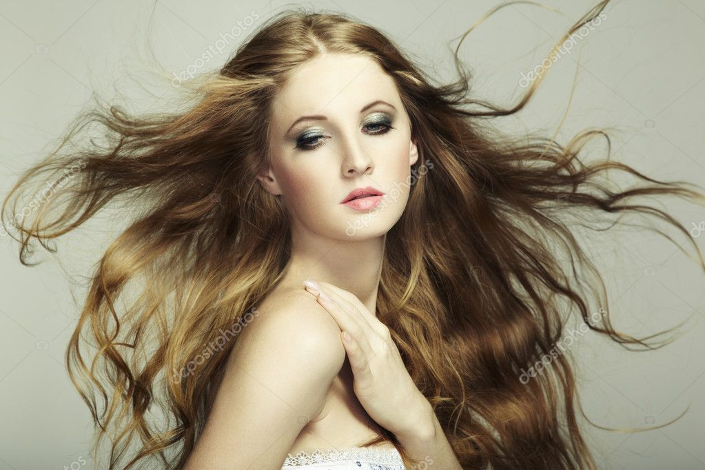 flowing hair and dimensional - photo #4