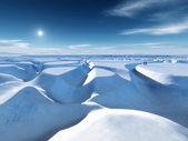 Biegun północny — Zdjęcie stockowe