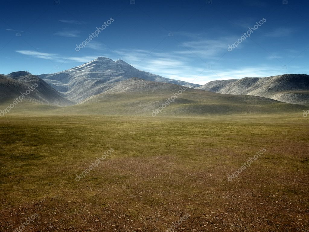 An image of a landscape without vegetation — Photo #10444979