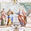 Fresco Wieskirche — Stock Photo