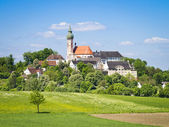 Andechs Monastery in Bavaria Germany — Stock Photo