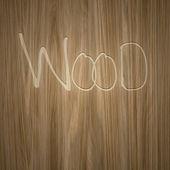 Trä graverade — Stockfoto