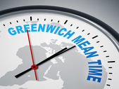 Greenwich Mean Time — Stock Photo