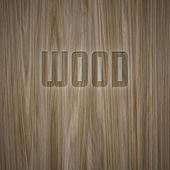 Wood engraved — Stock Photo