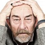 Old man sorrow — Stock Photo #8596146