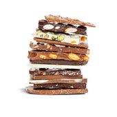 Chocolate mix — Stock Photo