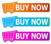 Koupit nyní známky — Stock fotografie