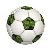 Pallone da calcio — Foto Stock