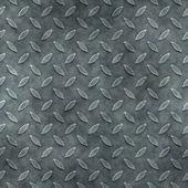 Seamless diamond metal plate texture — Stock Photo