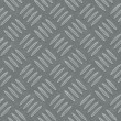 Seamless diamond metal plate texture — Stock Photo