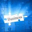Royalty-Free Stock Photo: Jigsaw puzzle business