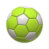 Bola de futebol — Fotografia Stock