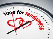 Time for tenderness — Foto de Stock