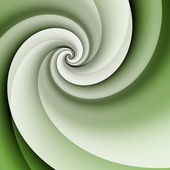 Green spiral background — Stock Photo