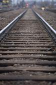 Railroad Track — Stok fotoğraf