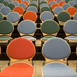 Spectators seats - Stock Photo