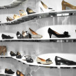 Stock Photo: Shoe store