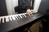 Tocar piano — Foto Stock