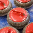 Curling Situation — Stockfoto