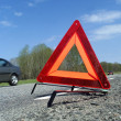 Warning Triangle - Stock Photo