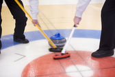 Curling situationen — Stockfoto