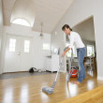 Vacuum Cleaning — Stock Photo