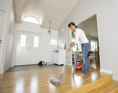 Vacuum Cleaning — Stock Photo