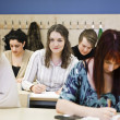 Young Adults studying — Stock Photo #9983122