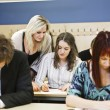 Classroom situation — Stock Photo