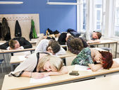 Boring Class — Stock Photo