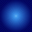 Blue vortex background — Stock Vector